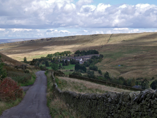 Lane to Bowstone Gate Farm