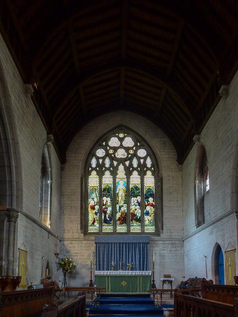 Altar, St Michael's Church, Fore Street, Beer, Devon