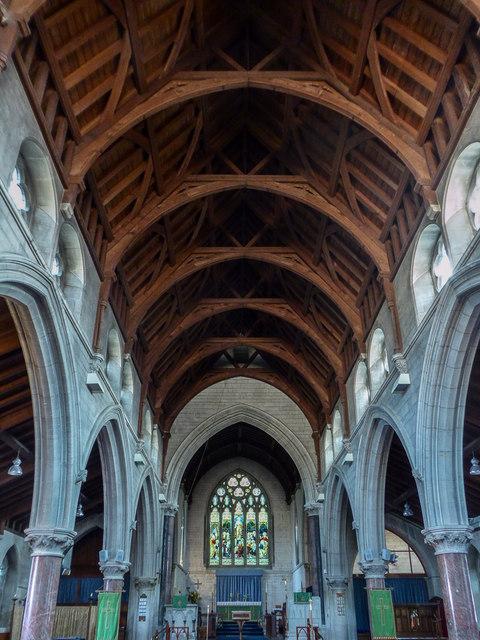 Aisle, St Michael's Church, Fore Street, Beer, Devon