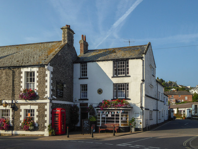 The Dolphin Hotel, Fore Street, Beer, Devon