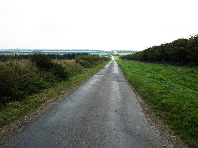 Road to Thornemead from Honeymead Two Gates