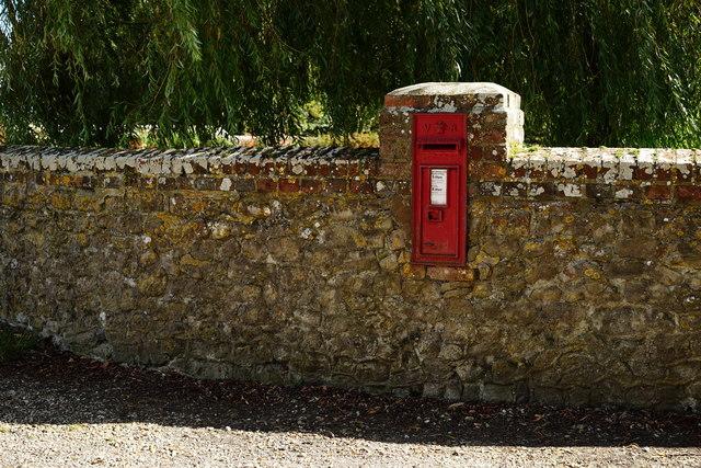 Postbox on Old Park Lane, Bosham