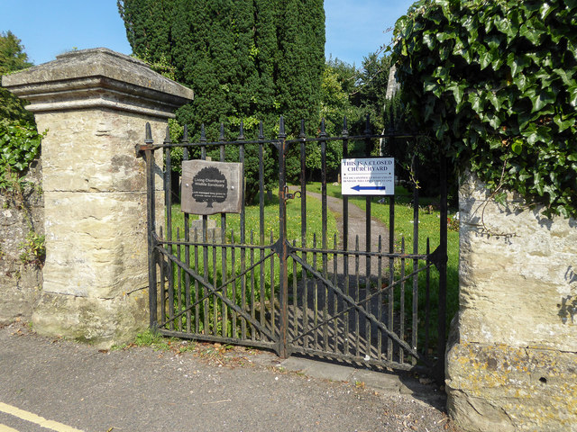 Gateway to The Old Church,  Beer, Devon