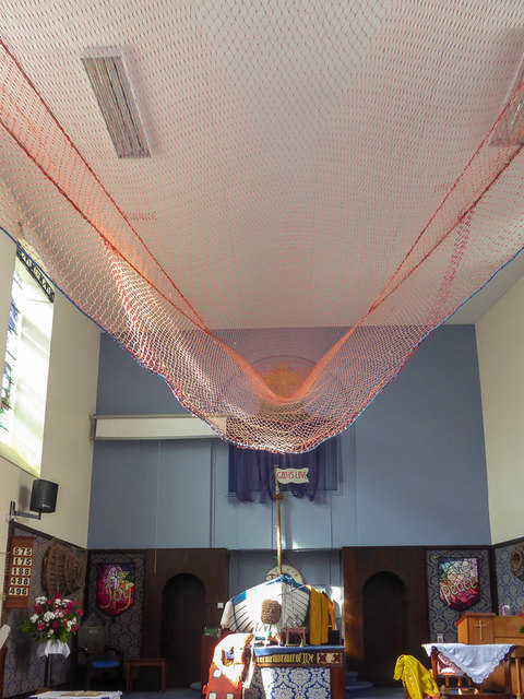 Interior of Congretational Chapel, Fore Street,  Beer, Devon