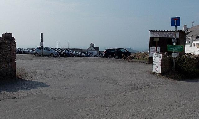 Entrance to Rhossili Car Park