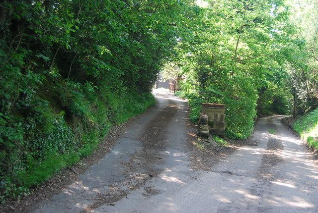 Entrance, Chalket Farm