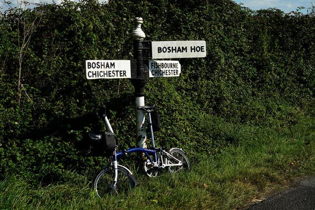 Signpost at Bosham