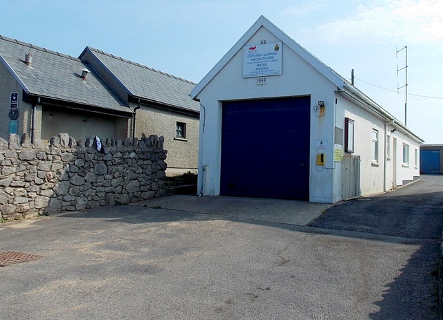 HM Coastguard Rescue Station, Rhossili