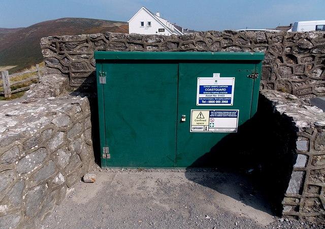 Coastguard Sewage Pumping Station, Rhossili