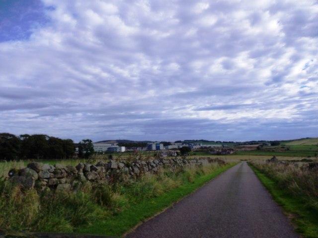 Minor road from Hillhead of Carnie