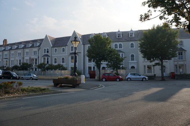 Houses on Augusta Street, Llandudno