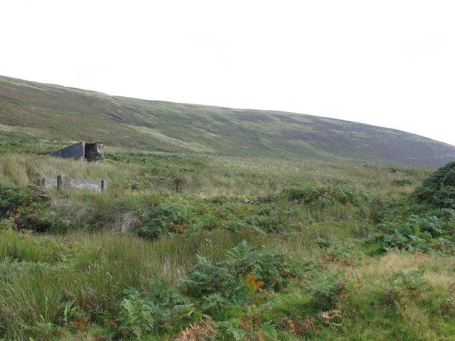 Disused mine below Tarnmonath Fell