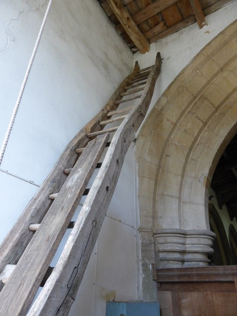 St Peter ad Vincula, The old ladder