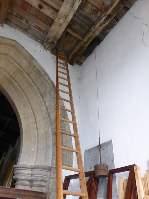 St Peter ad Vincula, The new ladder