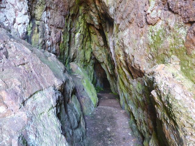 The Dinorben Mine at Ogof Gynfor