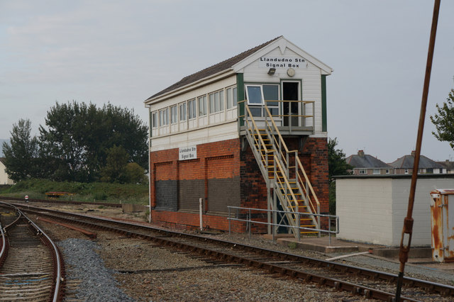 Llandudno Station Signal Box, Llandudno