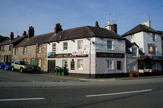 The Lord Nelson on Beach Road, Bangor
