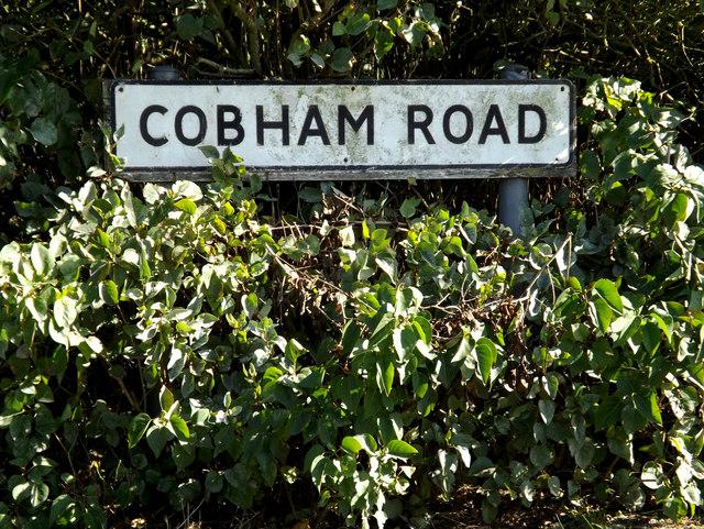 Cobhan Road sign