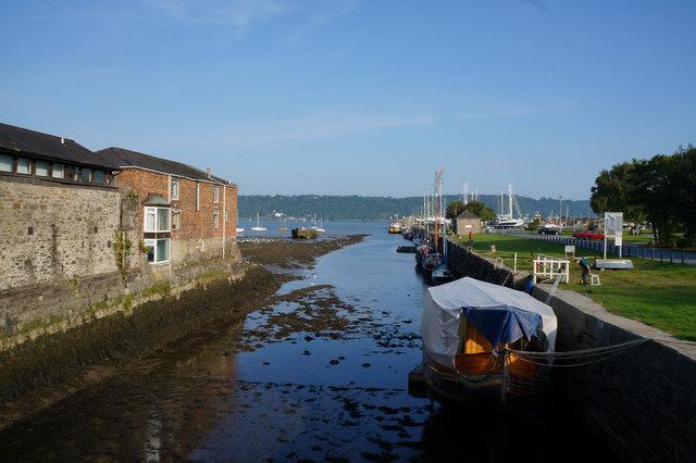 The River Cegin, Bangor