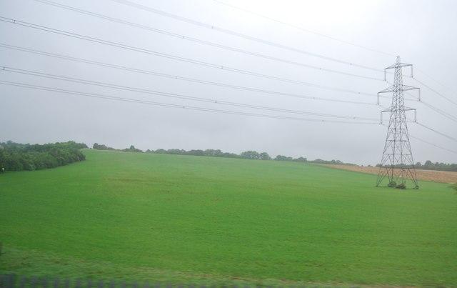 Farmland between Letchworth and Baldock