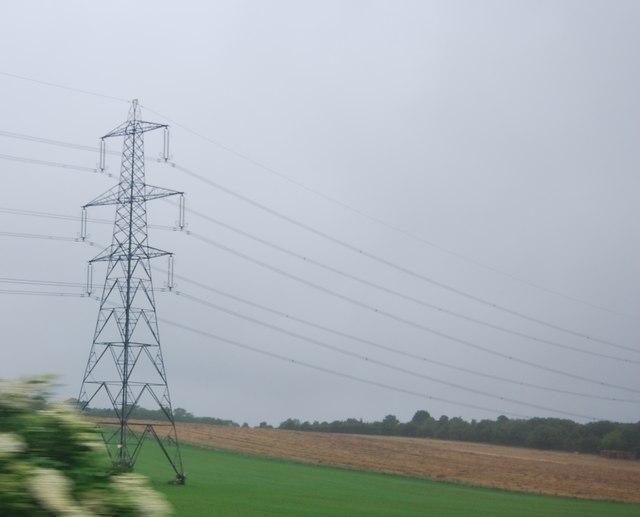 Pylon near Letchworth