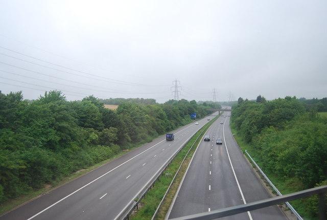 A1(M), northbound