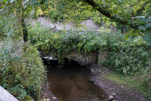Afon Cegin near Maesgeirchen