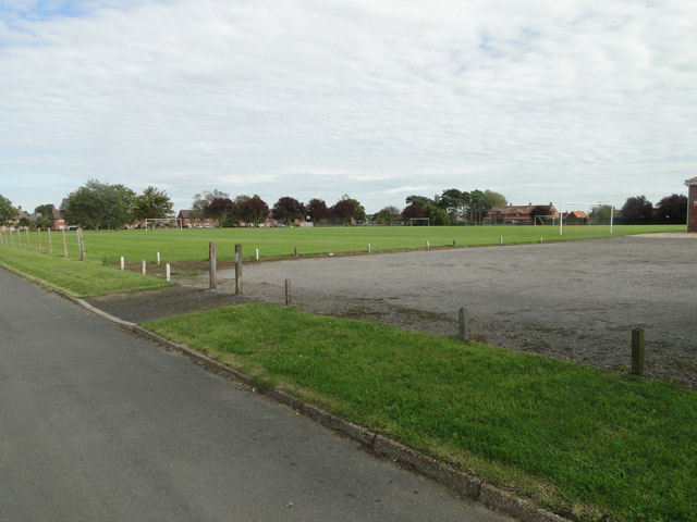 Playing Field at Hindringham