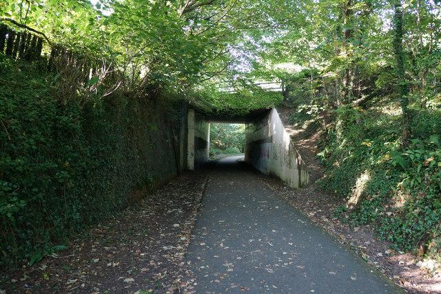 Wales  Coast Path goes under Llandudno Road