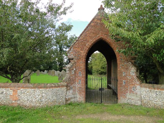 Cemetery in Cemetery Lane, Thursford