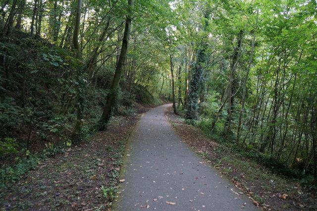 Wales  Coast Path near Maesgeirchen