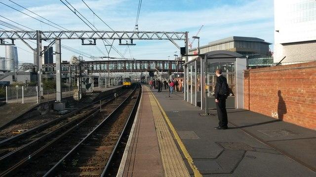 Platform 10a, Stratford Station