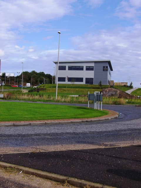 Roundabout access to Kingshill Business Park