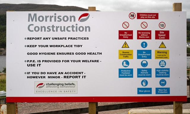 Health & Safety notice - Ardgour