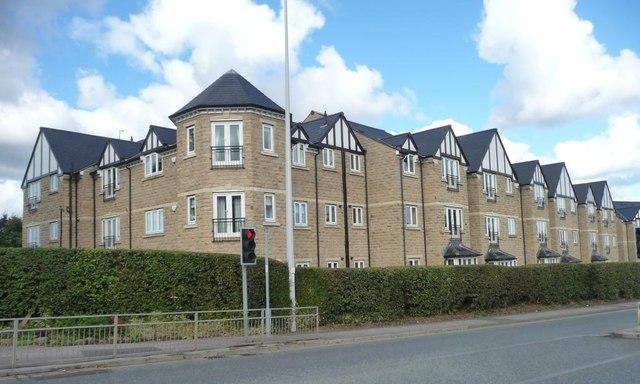 New flats on Leeds Road, Ilkley