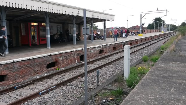 Colchester Town station: the end of the line