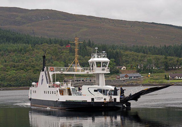 The Corran ferry