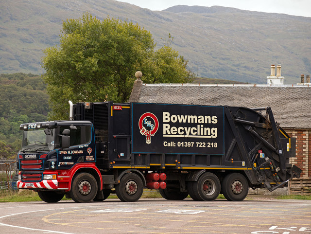 The refuse lorry - Ardgour