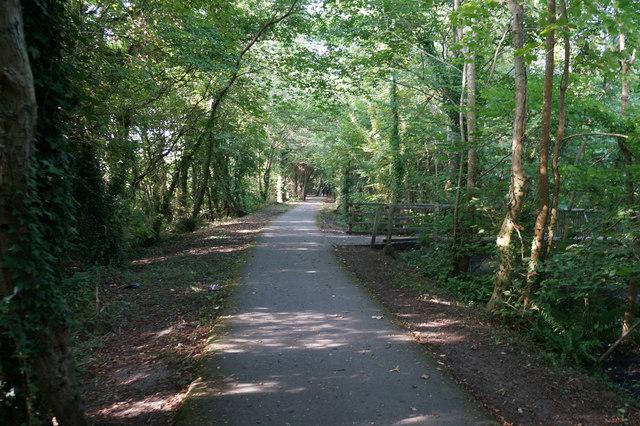 Wales  Coast Path towards Bryn