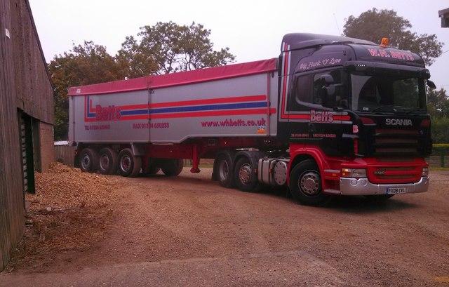 Grain haulier