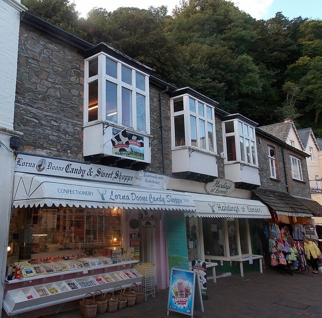Lorna Doone Candy & Sweet Shoppe in Lynmouth