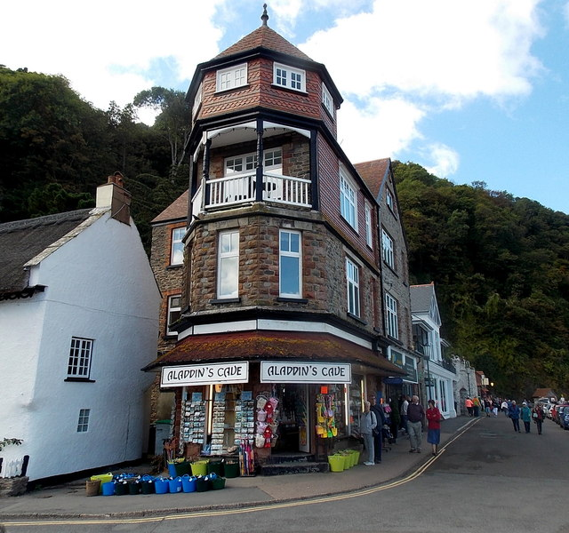 Aladdin's Cave in Lynmouth