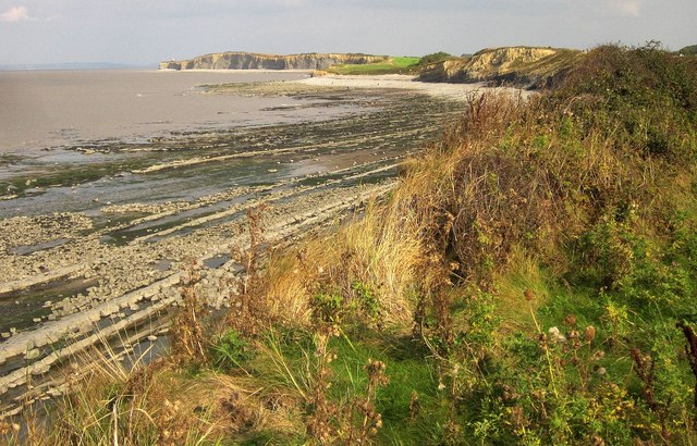 Coast east of Quantock's Head