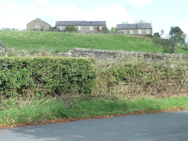 Houses on the site of Lane End Farm, Hunger Hill