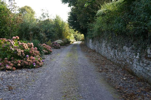Wales  Coast Path at Bryn