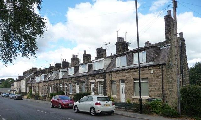Low terraced houses, Guiseley