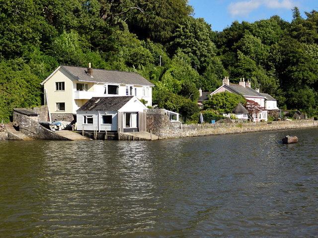 Waterside Houses near Stoke Gabriel