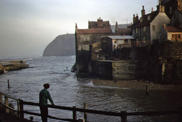 Staithes in 1958