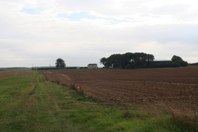 Rothwell Stockgarth from the bridleway
