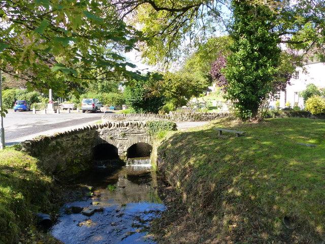 Bridge over the Winn Brook, Winsford